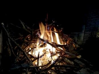 Au coin du feu....